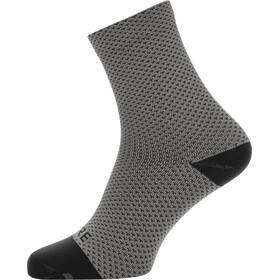 GORE WEAR C3 Dot Chaussettes mi-hautes, graphite grey/black